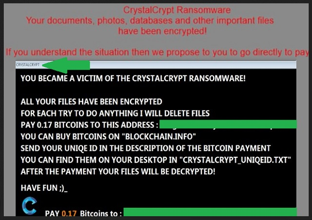 Remove Crystalcrypt Ransomware
