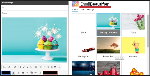 Remove EmailBeautifier