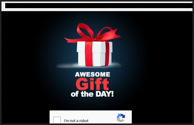 "Remove ""Awesome Gift Of The Day"""